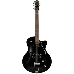 Godin 5th Avenue CW Kingpin P90 Hollowbody gitaar Black