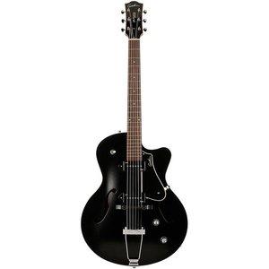 Godin 5th Avenue CW Kingpin P90 Hollowbody gitaar Black