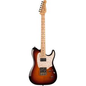 Godin Stadium '59 Elektrische gitaar MN Vintage Burst Flame