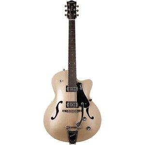 Godin 5th Avenue Uptown GT LTD Hollowbody gitaar Silver Gold