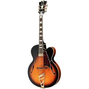 D'Angelico EXL1 Hollowbody gitaar Vintage Sunburst