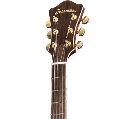 Eastman AR605CE Jim Fisch Hollowbody gitaar Classic +Case