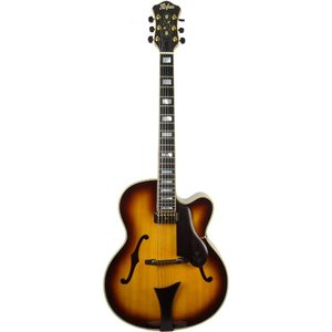 Hofner New President Hollowbody gitaar Sunburst