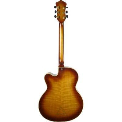 Hofner New President Hollowbody gitaar Sunburst