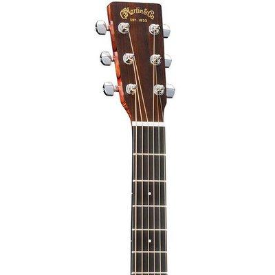 Martin DCX1RAE Akoestische gitaar Dreadnought Natural Satin
