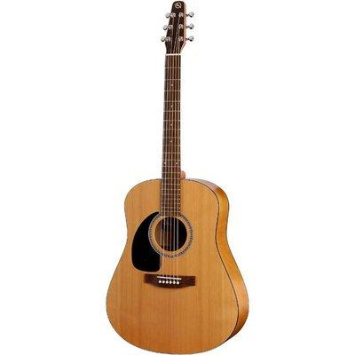Seagull Seagull Original S6L Cedar Akoestische gitaar Left Semi-Gloss