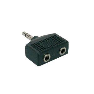 Proel AT140 Verloopplug 3.5mm Stereo-2x3.5mm Stereo Contra