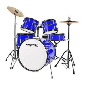 Hayman HM100-MU Drumstel  Fusion Metallic Blue