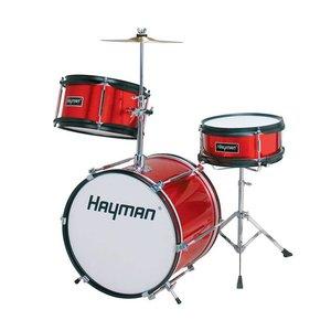 Hayman HM30-MR Drumstel Junior Metallic Red