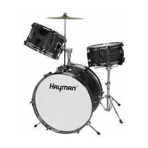 Hayman HM33-BK Drumstel Junior Black