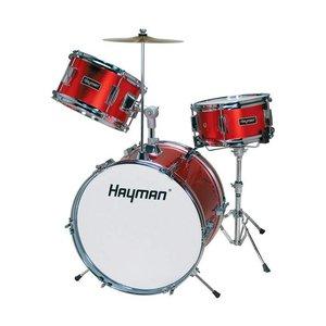 Hayman HM33-MR Drumstel Junior Metallic Red