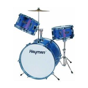 Hayman HM33-MU Drumstel Junior Metallic Blue