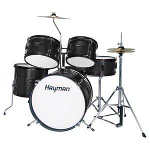Hayman HM50-BK Drumstel Junior Black