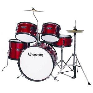 Hayman HM50-MR Drumstel Junior Metallic Red