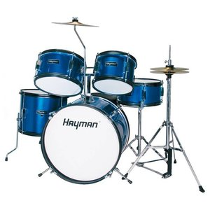 Hayman HM50-MU Drumstel Junior Metallic Blue