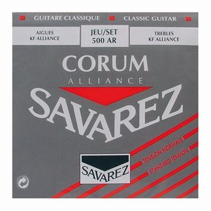 Savarez 500AR Nylon gitaarsnaren Corum Alliance Normal Tension