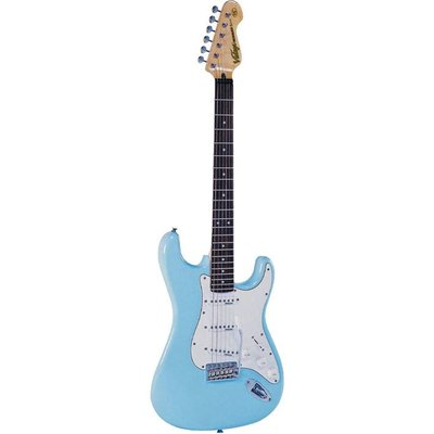 Vintage V6LB Elektrische gitaar Laguna Blue