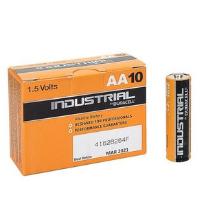 Duracell Industrial Alkaline AA Batterij 10-Stuks