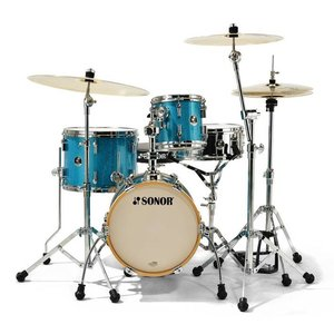 Sonor Martini SE13 Drumstel Shellset Turquois Galaxy Sparkle
