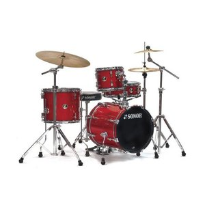 Sonor Safari SE12 Drumstel Shellset Red Galaxy Sparkle
