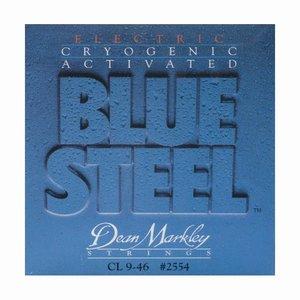 Dean Markley 2554 Snaren Blue Steel Custom Light