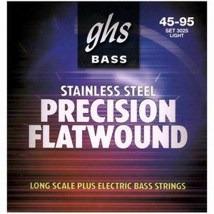 GHS 3025 Bassnaren Precision Flatwound Light