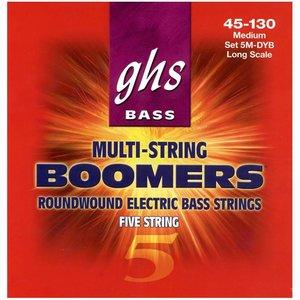 GHS 5MDYB Bassnaren Boomers Medium 5-String