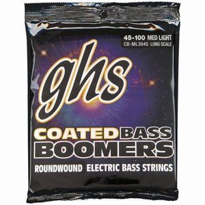 GHS CB-ML3045 Bassnaren Coated Boomers Medium Light