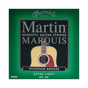 Martin M2000 Snaren Marquis Phosphor Bronze Extra Light