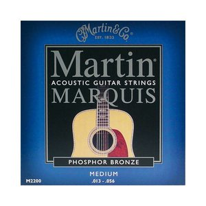 Martin M2200 Snaren Marquis Phosphor Bronze Medium