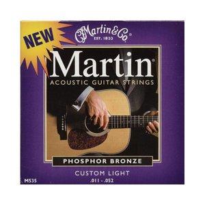 Martin M535 Snaren Phosphor Bronze Custom Light