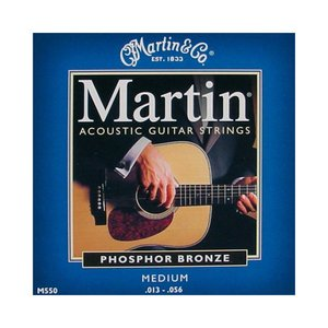 Martin M550 Snaren Phosphor Bronze Medium