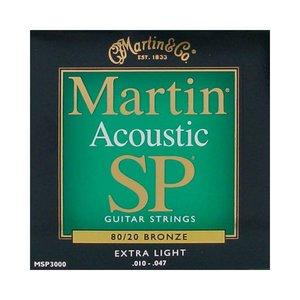 Martin MSP3000 Snaren 80/20 Bronze Extra Light