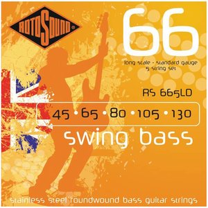 Rotosound RS665LD Bassnaren Swing Bass Standard