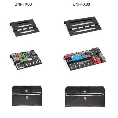 Stefy UNI-FX60 Professional Pedalboard +Bag