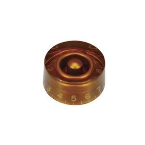 Boston KA114 Potmeter knop Transparent amber Inch