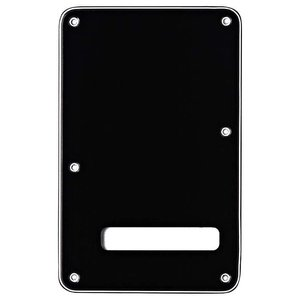 Fender Achterplaat Stratocaster Black 3-Ply
