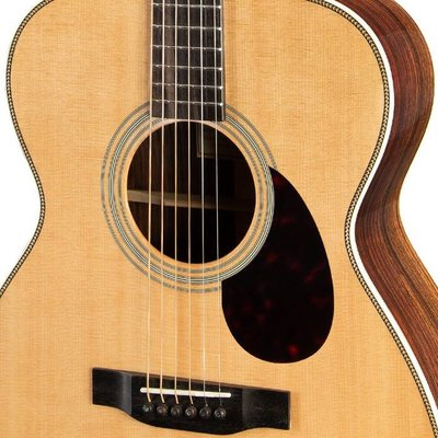 Eastman E8 OM Akoestische gitaar Orchestra Natural +Case