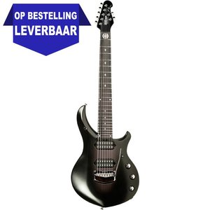 Music Man Monarchy Majesty 7-String Gitaar Black Knight