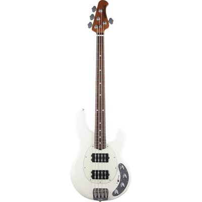 Music Man Stingray Special Bass HH Rosewood Ivory White +Case