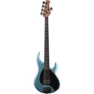 Music Man Stingray 5 Special Bass Ebony Aqua Sparkle +Case