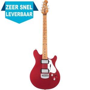Music Man James Valentine Tremolo Elektrische gitaar Husker Red