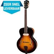 Eastman AR405E Hollowbody gitaar Sunburst +Case
