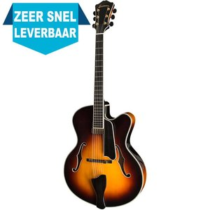 Eastman AR810CE Hollowbody gitaar Sunburst