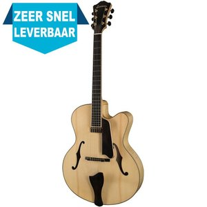 Eastman AR910CE Hollowbody gitaar Blonde