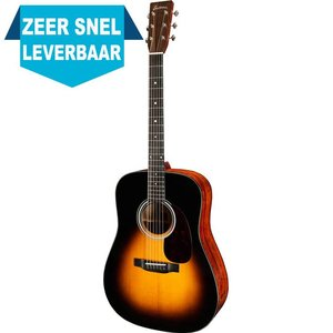 Eastman E10 D Akoestische gitaar Sunburst
