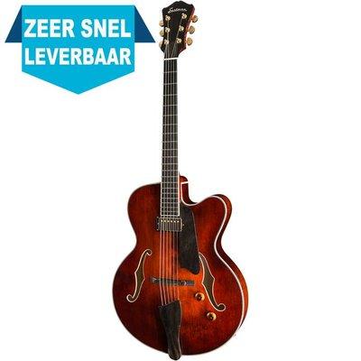 Eastman AR503CE Hollowbody gitaar Classic +Case