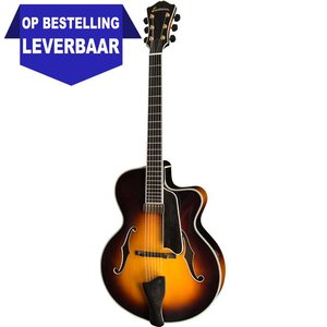 Eastman AR805CE Hollowbody gitaar Sunburst