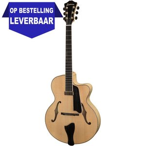 Eastman AR905CE Hollowbody gitaar Blonde