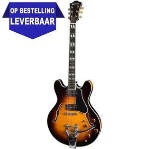 Eastman T486B Hollowbody gitaar Sunburst